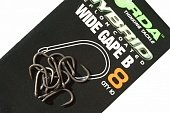 Крючки Korda Wide Gape Barbless-02 KWGB2