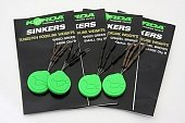 Огрузка для крючка Korda Sinkers Small Weedy Green KSKSG